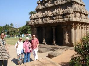 Махабалипурам. В парке камней.
