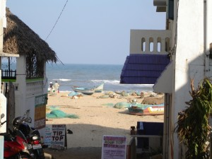 Пляж. Махабалипурам. Индия.