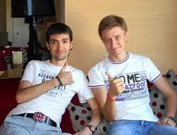 Макс Хигер и Артем Мельник
