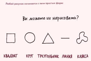 5 простых форм